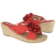 Bloom Sandals (Red Silk) - Women's Sandals - 7.5 W