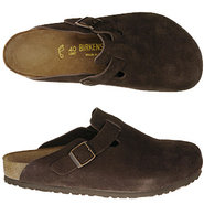 Boston Sandals (Mocha Suede) - Men's Sandals - 44.