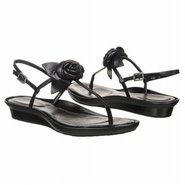 Dailana Flower Strap Sandals (Black) - Women&#39;s San
