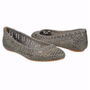 Emma Woven Ballet Shoes (Slate Leather) - Women&#39;s 