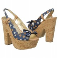 Candy From A Baby Shoes (Navy Polka Dots) - Women&#39;