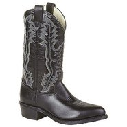 12  Dress Western Boots (Black) - Men's Boots - 11