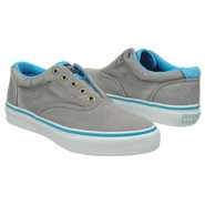 Striper Laceless Neon Shoes (Grey/Blue) - Men&#39;s Sh