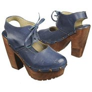 Heaven Shoes (Blue Leather) - Women's Shoes - 9.0