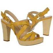 Indira Shoes (Yellow Leather) - Women&#39;s Shoes - 10