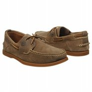 EK Heritage 2Eye Boat Shoes (Olive Roughout) - Men