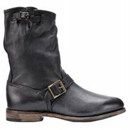 Veronica Boots (Black Leather) - Women's Boots - 1