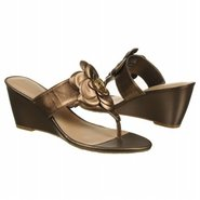 Nicoleen Jewel Flower Sandals (Bronze) - Women's S