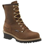 8  WP Plain Toe Logger Boots (Copper Crzyhrse) - M
