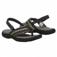 OshKosh B&#39;gosh Dale Tod/Pre Sandals (Black/Green) 