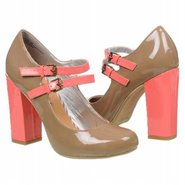 Mariska Shoes (Taupe/Coral) - Women&#39;s Shoes - 7.5 