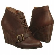 Charlene Wedge Bootie Boots (Mahogany Leather) - W