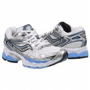 ProGrid Ride 4 Shoes (White/Silver/Blue) - Women's