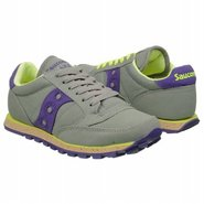 Jazz Low Pro Vegan Shoes (Grey/Dk Purple) - Women'