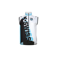 Men's Tri Wind Vest Accessories (White/Fiji Blue)-