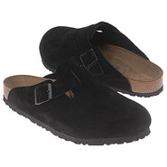 Boston Soft Footbed Sandals (Black Suede) - Men's