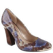 Rattle Shoes (Blue Multi Leather) - Women's Shoes