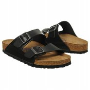 Arizona Soft Footbed Sandals (Black Leather) - Men