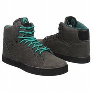Grounds Shoes (Black/Teal/Stripes) - Men's Shoes -