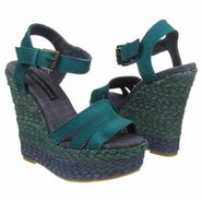 Brieezie Sandals (Teal Suede) - Women's Sandals -