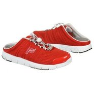 Travel Walker Slide Shoes (Red) - Women's Shoes -