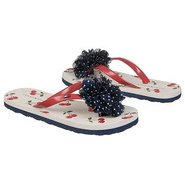 GG Flip Flop Cherries Sandals (Navy/Red) - Kids' S