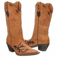 Mustang Boots (Tan/Brown) - Women's Boots - 7.0 M