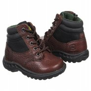 Hiker Zipper Lace Up Tod Boots (Red Brown) - Kids'