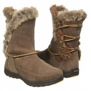 Ellie Lodge Mid Boots (Taupe Suede) - Women's Boot