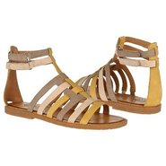 Zamira Sandals (Hot Mustard/Taupy Gr) - Women's Sa