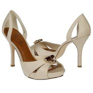 Passion Shoes (Cream Silk Shantung) - Women&#39;s Shoe