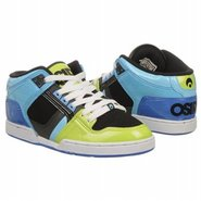 NYC 83 Mid Shoes (Lime/Black/Cyan) - Men's Shoes -