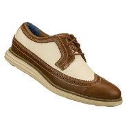 Gavin Shoes (Brown/White) - Men's Shoes - 10.0 M