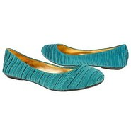 Satin Shoes (Teal) - Women&#39;s Shoes - 5.0 M