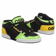 NYC 83 Mid Shoes (Black/Lime/Yellow) - Men's Shoes