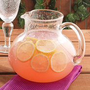 Iris Bubble Glass - Pitcher