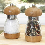 Salt &amp; Pepper Mill Set, Bamboo - PEPPER MILL