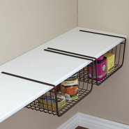 York Stackable Pantry Storage Basket - under shelf