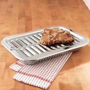 Progressive Stainless Steel Broiler Pan - Large