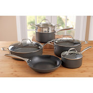 Curtis Stone 'Hardstuff' Cookware Set, 10 piece -