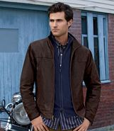 Joseph Leather Jacket JoS. A. Bank