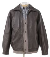 Executive Leather Jacket Big and Tall Sizes JoS. A