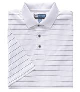 David Leadbetter Stays Cool Golf Polo with Fast-Dr