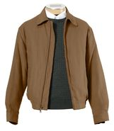 Micro-Suede Zip-Out Bomber Jacket JoS. A. Bank