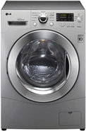 WM3455 Silver Washer And Dryer Combo - WM3455HS