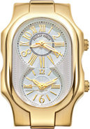 Signature White Dial Small Yellow Gold Womens Case