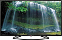 42   Black LED 1080P 120Hz 3D Smart HDTV - 42LA620