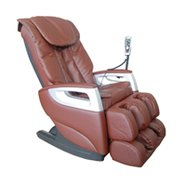 Brown Reclining Shiatsu Function Massage Chair - 1