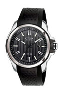 Eco-Drive AR 2.0 Stainless Steel And Black Mens Wa