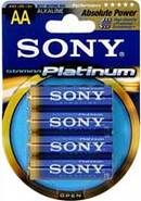 AA 4 Pack Stamina Platinum Alkaline Batteries - AM